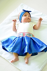 Detská saténová sukňa