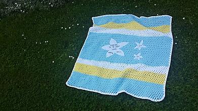 Textil - Detská deka HVIEZDY - 9711018_