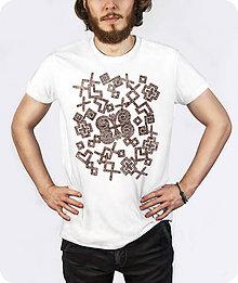 Tričká - Pánske tričko Rozsypané Čičmany - 9712403_
