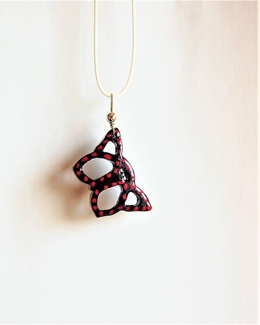 6c7be0a8c Drevený náhrdelník - Motýlik 2 / DREWART - SAShE.sk - Handmade ...