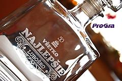Jim - gravírovaná darčeková fľaša