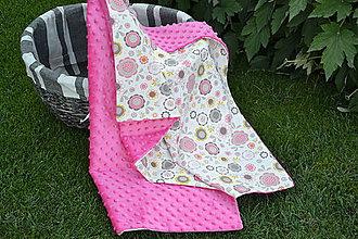 Textil - Ružová minky - 9709982_