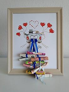 Darčeky pre svadobčanov - Svadobný dar - obraz - 9710970_