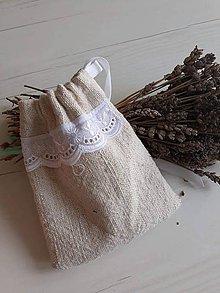 Úžitkový textil - Vrecúško na bylinky - 9710470_