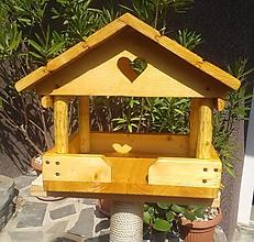 Pre zvieratká - Krmítko pre vtáky - 9711817_
