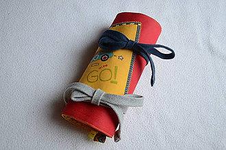 Taštičky - peračník, pastelkovník - 9714943_