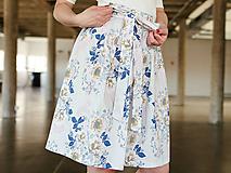 Sukne - Zavinovací sukně Grey Fusion - 9715879_