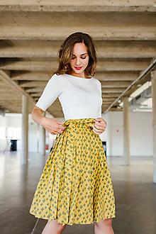 Sukne - Zavinovací sukně Mexická (kaktusy) - 9713640_