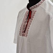 Oblečenie - Bordo krátky rukav. - 9713296_