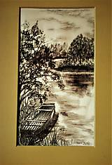 Kresby - Leto pri vode l - 9714717_