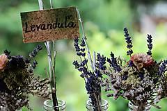 Dekorácie - Levanduľová dekorácia - 9715224_