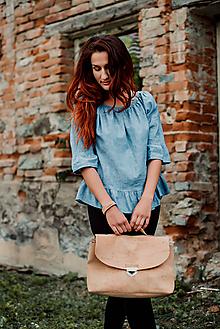 Veľké tašky - Korková aktovka / batoh  - 9715057_