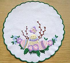 Úžitkový textil - Veľkonočný obrus 3 - 9715022_