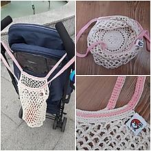 Nákupné tašky - Taška-Francúzka na nákupe - 9714288_