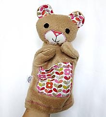 Hračky - Maňuška medvedík - Macko od Kvitnúceho chodníčka - 9715040_