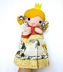 Hračky - Maňuška princezná - Nikoleta - 9715158_