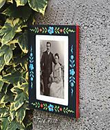Rámiky - Ručne maľovaný rámček Anna Hindeloopen - 9716388_
