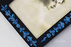 Rámiky - Ručne maľovaný rámček Anna Hindeloopen - 9716392_