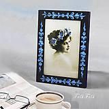 Rámiky - Ručne maľovaný rámček Anna Hindeloopen - 9716393_