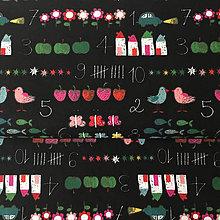 Textil - farebné počty, 100 % bavlna Francúzsko, šírka 140 cm - 9713291_