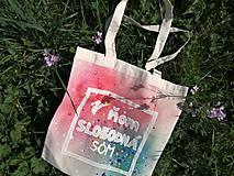 Nákupné tašky - V ňom slobodná som - 9714671_