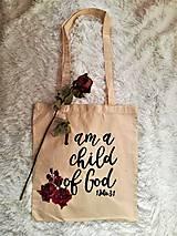 Nákupné tašky - I am a child of God - 9714682_