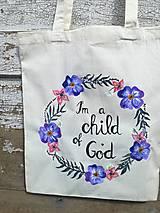 Nákupné tašky - I am a child of God 2 - 9714685_