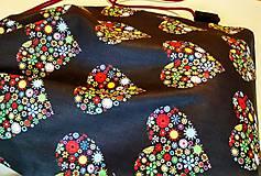 Batohy - Vak- farebné srdiečka - 9713360_