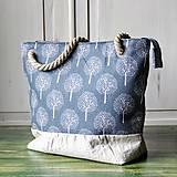 Kabelky - Ľanová kabelka