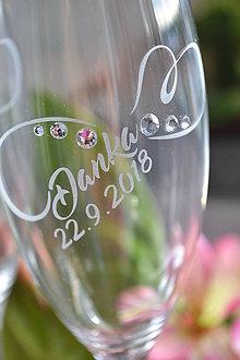 Nádoby - Čaše svadobné - 9716655_