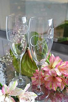 Nádoby - Čaše svadobné - 9716659_