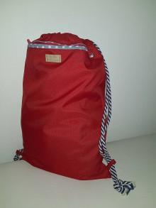 Iné tašky - Vak červený - 9714597_
