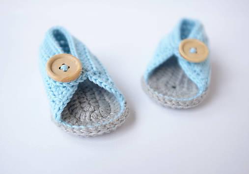 Topánočky - papučky/sandálky  - 9716104_
