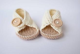 Topánočky - papučky/sandálky - 9716022_