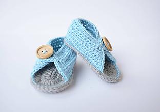 Topánočky - papučky/sandálky - 9716088_