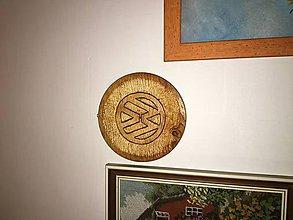 Suroviny - VW logo (vyrezávanie do dreva) - 9716333_