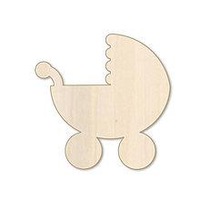 Polotovary - Kočík - drevený výrez - 9716844_