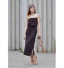 Šaty - Hnedé multifunkčné šaty - 9715435_