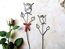 Dekorácie - Ruža pre... (Červená) - 9716247_