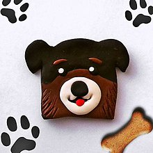 Magnetky - Psie magnetky (bernský salašnícky pes) - 9715273_