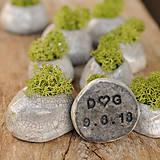 Darčeky pre svadobčanov - svadobná miniatúrna RAKU záhradka - 9719023_