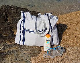 Veľké tašky - Plážová taška - 9718535_
