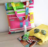 3 Taška přes rameno na nákup, dovolenou .....