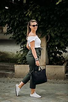 Veľké tašky - Korková kabelka - 9718122_
