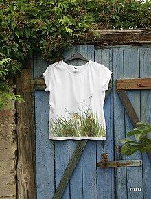 Tričká - Maľované tričko