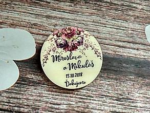 Darčeky pre svadobčanov - Magnetka 2 - 9717389_