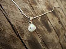 Iné šperky - Opálikový biely - 9717168_