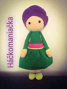 Hračky - Háčkovaná bábika Lalylala - 9717485_