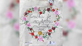 Nákupné tašky - ♥ Plátená, ručne maľovaná taška ♥ (MI21) - 9719684_