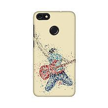 Na mobil - Kryt s motívom gitaristu pre Apple, Huawei, Samsung - 9718424_